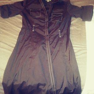 a dress with belt